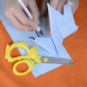 журавлик орігамі